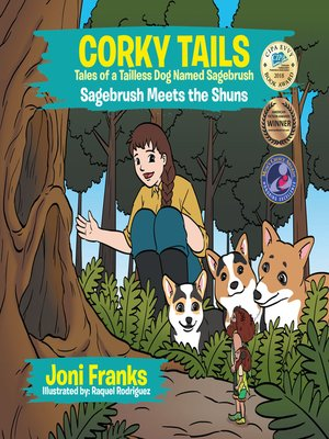 cover image of Corky Tails Tales of a Tailless Dog Named Sagebrush