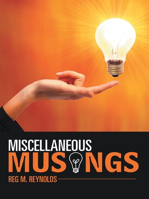 cover image of Miscellaneous Musings