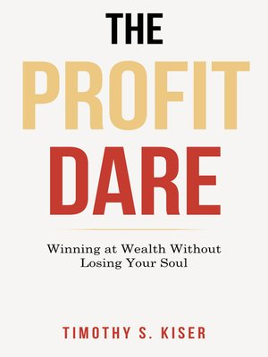 cover image of The Profit Dare