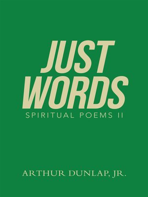 cover image of Just Words