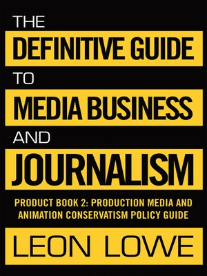 cover image of The Definitive Guide to Media Business and Journalism