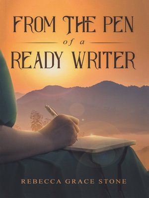 cover image of From the Pen of a Ready Writer