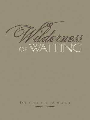 cover image of Wilderness of Waiting