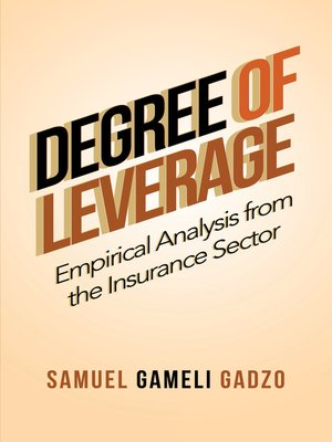 cover image of Degree of Leverage