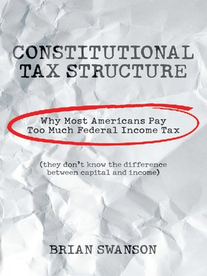cover image of Constitutional Tax Structure