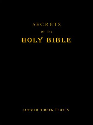 cover image of Secrets  of the Holy Bible