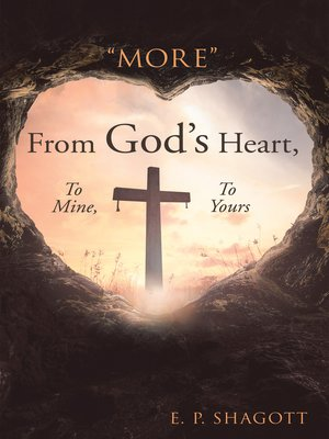 "cover image of ""More"" from God's Heart, to Mine, to Yours"