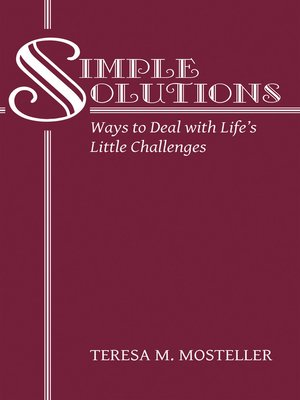 cover image of Simple Solutions