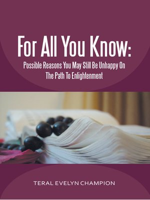 cover image of For All You Know