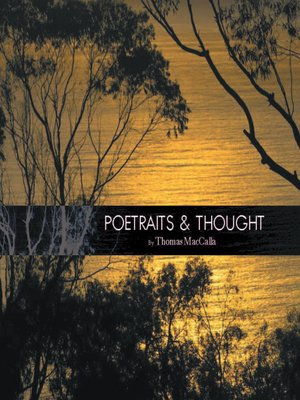 cover image of Poetraits & Thought