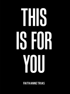 cover image of This Is for You