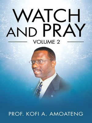 cover image of Watch and Pray