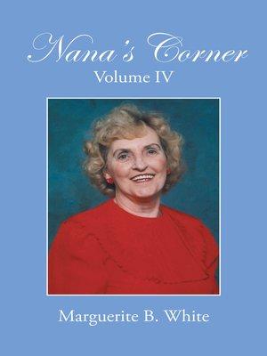 cover image of Nana's Corner Volume Iv