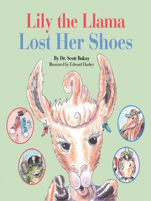 cover image of Lily the Llama Lost Her Shoes