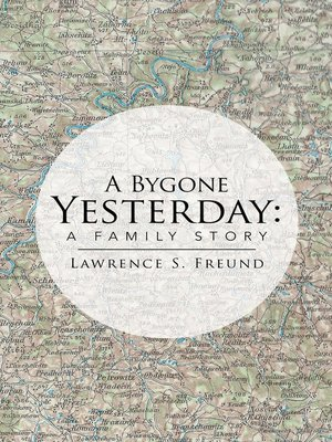 cover image of A Bygone Yesterday