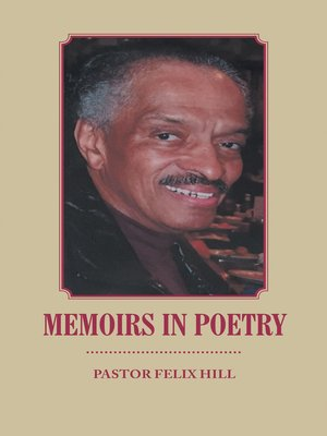 cover image of Memoirs in Poetry