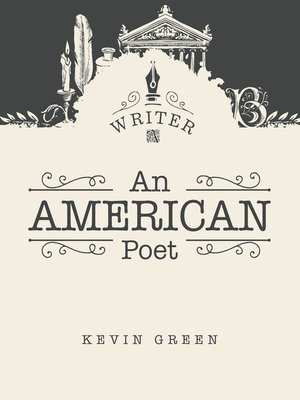 cover image of An American Poet