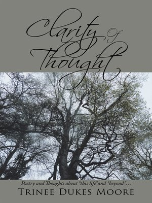 cover image of Clarity of Thought