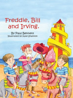 cover image of Freddie, Bill and Irving