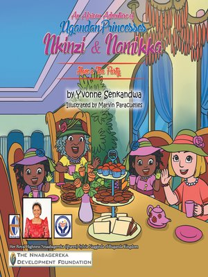 cover image of Nkinzi & Namikka  Have a Tea Party