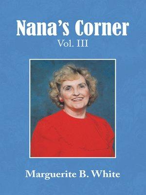 cover image of Nana's Corner Volume Iii