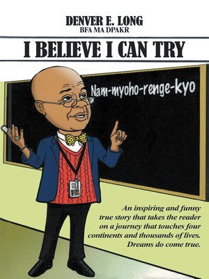 cover image of I Believe I Can Try