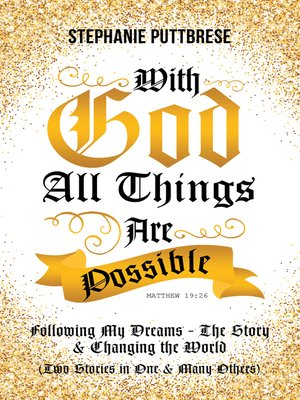 cover image of With God All Things Are Possible