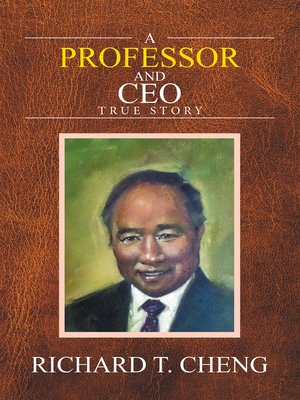 cover image of A Professor and Ceo