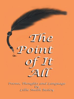 cover image of The Point of It All