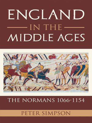 cover image of England in the Middle Ages