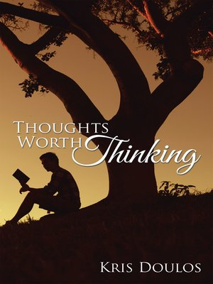cover image of Thoughts Worth Thinking