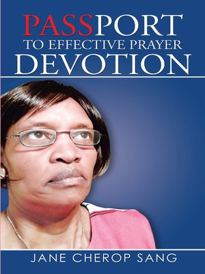 cover image of Passport to Effective Prayer Devotion