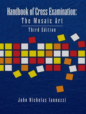 cover image of Handbook of Cross Examination