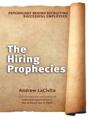 cover image of The Hiring Prophecies