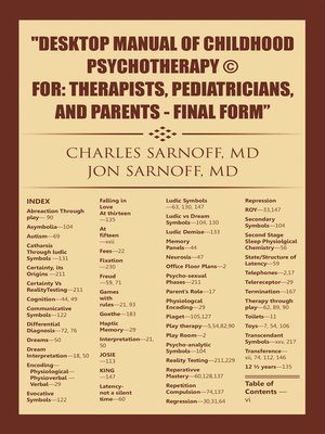 cover image of Desktop Manual of Childhood Psychotherapy © For