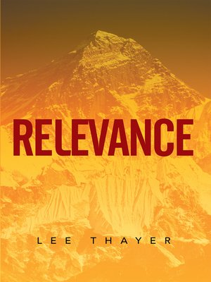 cover image of Relevance