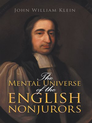 cover image of The Mental Universe of the English Nonjurors