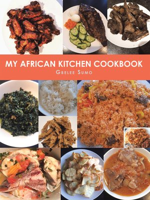 cover image of My African Kitchen Cookbook