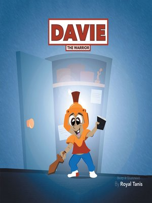 cover image of Davie the Warrior
