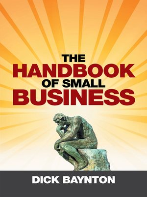 cover image of The Handbook of Small Business