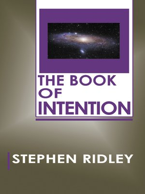 cover image of The Book of Intention