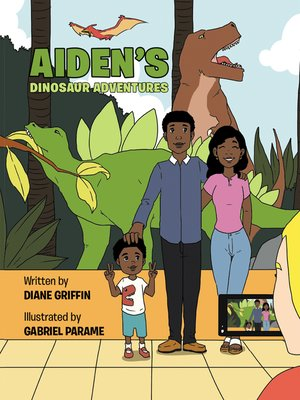 cover image of Aiden'S Dinosaur Adventures