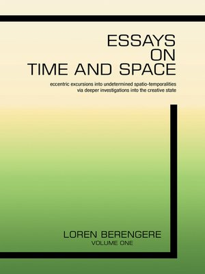 cover image of Essays on Time and Space