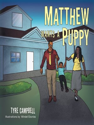 cover image of Matthew Wants a Puppy