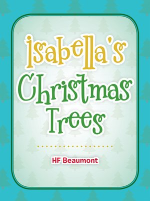 cover image of Isabella's Christmas Trees