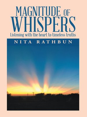 cover image of Magnitude of Whispers