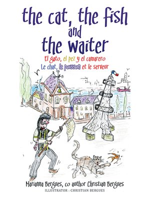 cover image of The Cat, the Fish and the Waiter (Spanish Edition)