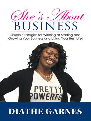cover image of She's About Business