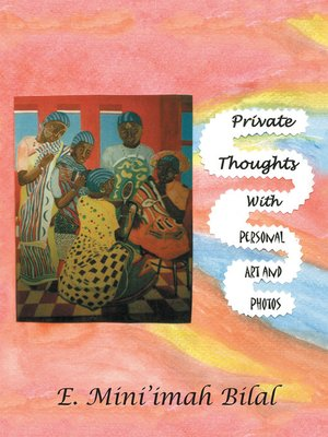 cover image of Private Thoughts with Personal Art and Photos