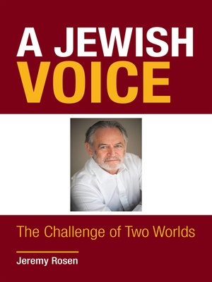cover image of A Jewish Voice